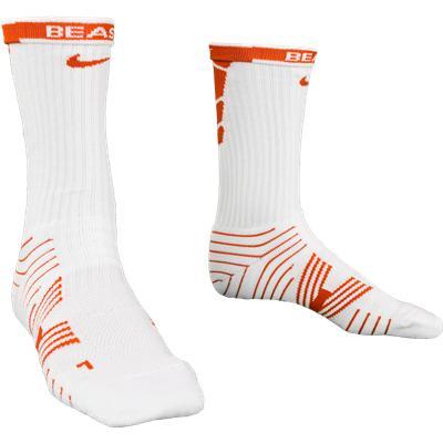 Orange/White (Nike Performance Crew Socks - 2 Pack)