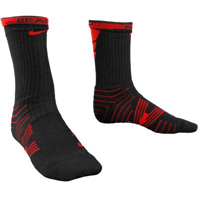 Red/Black (Nike Performance Crew Socks - 2 Pack)