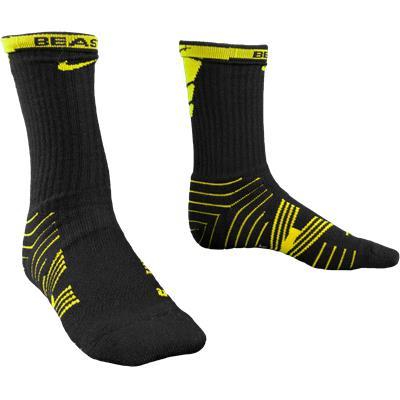 Yellow/Black (Nike Performance Crew Socks - 2 Pack)