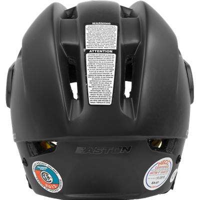 Back View (Easton E700 Helmet)