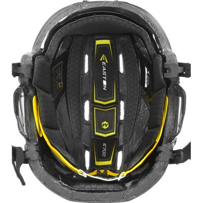 Removable Liner Is Anti-Microbial (Easton E700 Helmet)