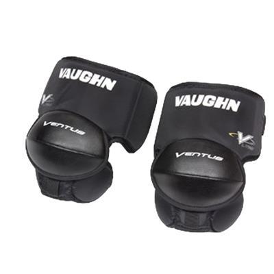 Black (Vaughn LT60 Goalie Knee & Thigh Guards)