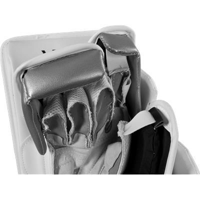 HD Foam Surrounds Your Hand (Bauer Reactor 6000 Goalie Blocker)