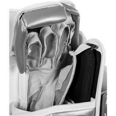 Reinforced Nash Gives You A Great Feel For Stick (Bauer Reactor 6000 Goalie Blocker)