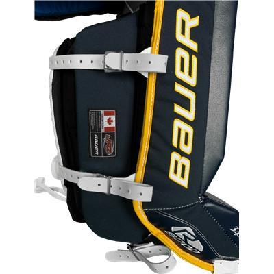 Bauer Graphic (Bauer Reactor 6000 Vintage Design Goalie Leg Pads)
