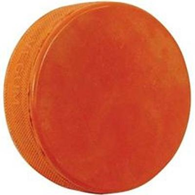 (Sher-Wood Weighted Ice Hockey Practice Puck - Orange 10oz)