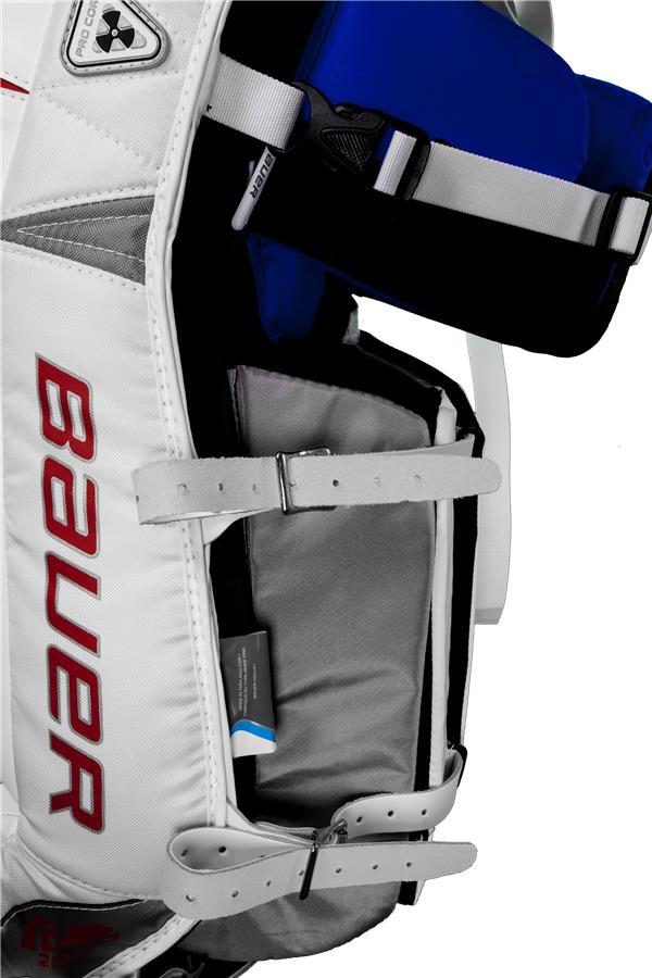 64a855a762b (Bauer Reactor 2000 Goalie Leg Pads - Senior)