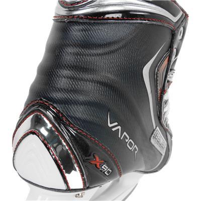 X-Rib Design Provides Stability (Bauer Vapor X90 Ice Skates)