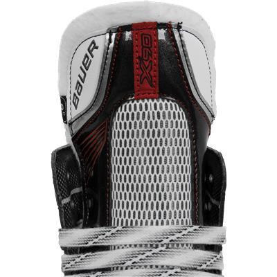 Durable Tongue Can Take Punishment (Bauer Vapor X90 Ice Skates)