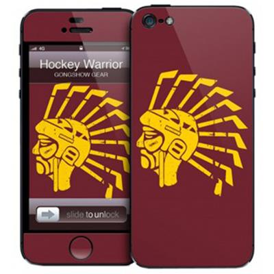 Hockey Warrior iPhone 5 Skin (Gongshow Hockey Warrior iPhone 5 Skin)
