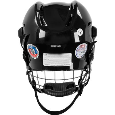 b8cbdb1b638 Black (Bauer 2100 Helmet Combo)
