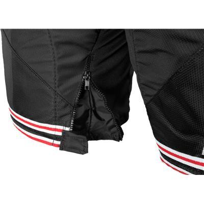 Black/Red (Bauer Nexus 800 Hockey Pants)