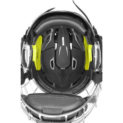 Black (Bauer IMS 9.0 Hockey Helmet Combo)