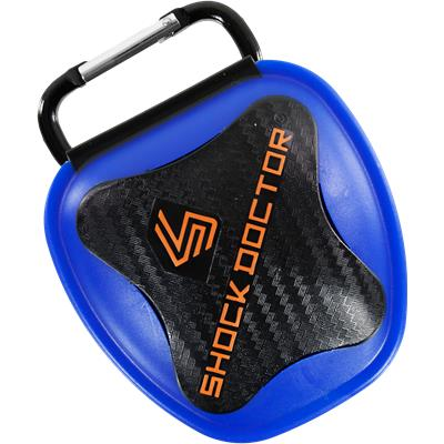 Trans Blue (Shock Doctor Anti-Microbial Mouth Guard Case)