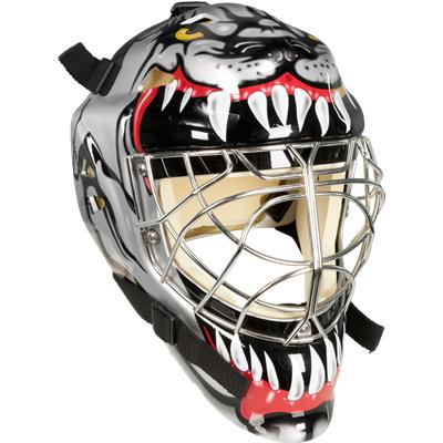 Vaughn 7500 Certified Cateye Goal Mask With Decals Junior Pure