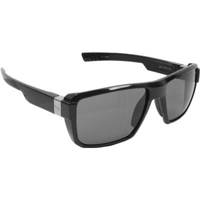 b94492adff Shiny Black Gray (Under Armour RECON Sunglasses Shiny Black)