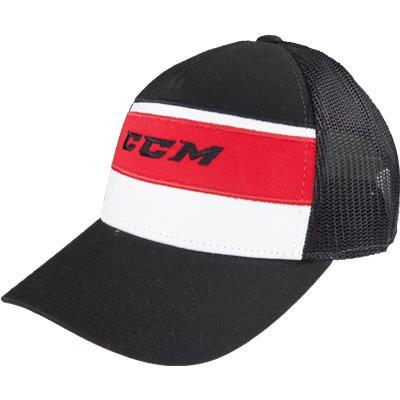 Black (CCM Tavares Mesh Tactel Hat) a8ed429b0e57