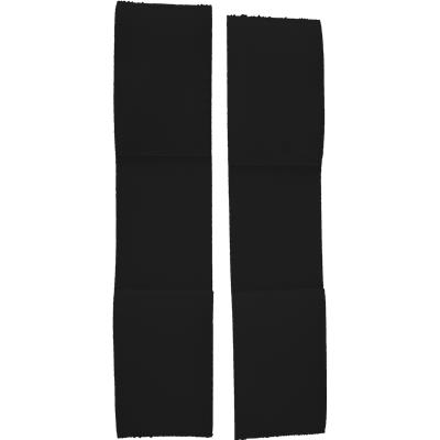 "Black (A&R Single Elastic Knee Lock Strap - 9.5"" L)"