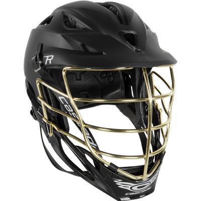 Black Matte W/ Gold Mask (Cascade R Matte Helmet)