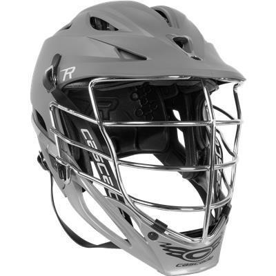 Grey Matte W/ Chrome Mask (Cascade R Matte Helmet)