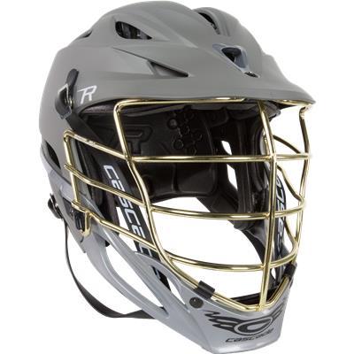 Grey Matte W/ Gold Mask (Cascade R Matte Helmet)