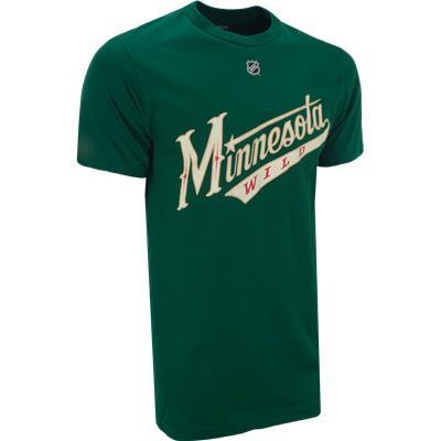 Front View (Reebok Minnesota Wild Zach Parise Tee Shirt)