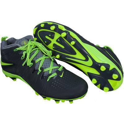 Black/Yellow (Nike Huarache 4 Cleats)