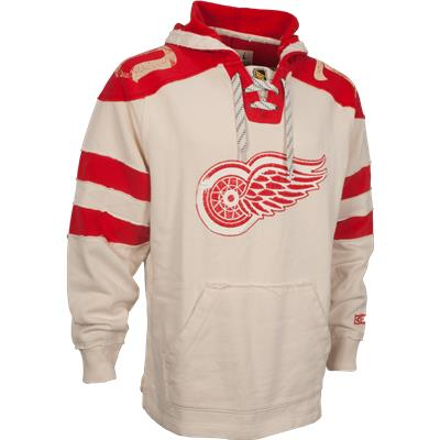 size 40 01ce7 13588 CCM Detroit Red Wings Pullover Hoody - Mens