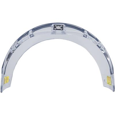 Top (Oakley Straight Cut Half Shield with Vents)