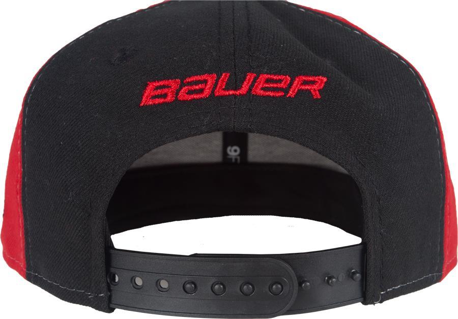 72470b8a6e315 (Bauer 9FIFTY Snapback Hat - Junior)
