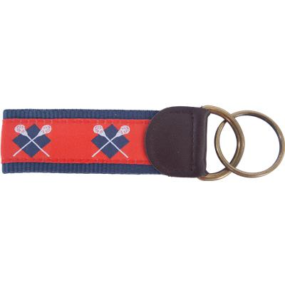 Red/Blue (Lacrosse Sticks Key Fob)