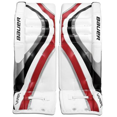 a9119b05afb ... Goalie Leg Pads - Senior. Stars. Previous. Profile -  White Silver Black Red (Bauer Vapor X 60 Pro