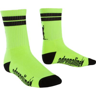 Yellow/Black (Adrenaline J-Train Eclipse Neon Socks)
