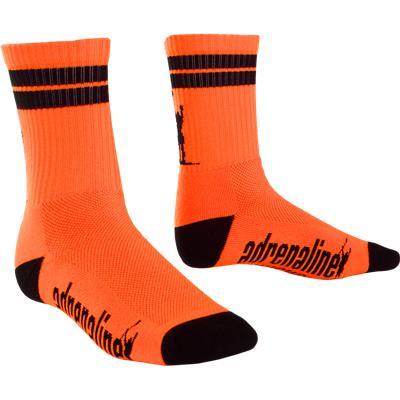 Orange/Black (Adrenaline J-Train Eclipse Neon Socks)