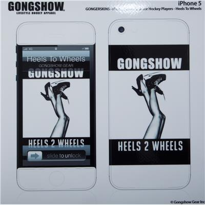 (Gongshow Heels 2 Wheels iPhone Skin)
