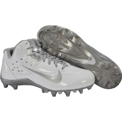 White/Silver (Nike Speedlax 4 Cleats)