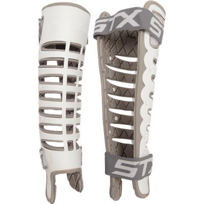 White (STX Valor Shin Guards)