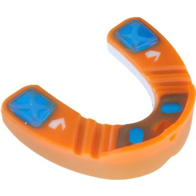 Bottom View (Shock Doctor Gel Nano 3D Mouth Guard)