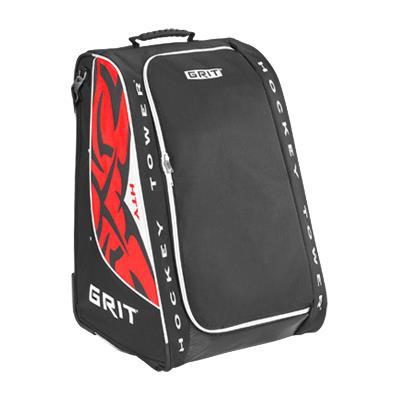 Black/White/Red (Grit HTSE Hockey Tower Bag)