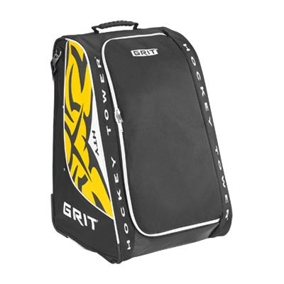 Black/White/Yellow (Grit HTSE Hockey Tower Bag)