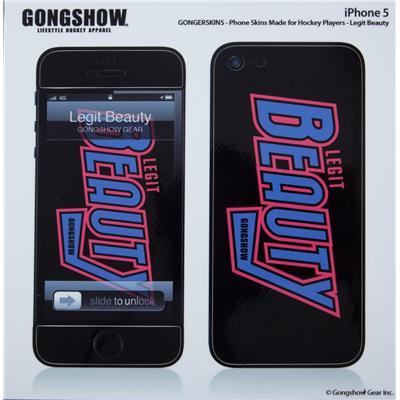 (Gongshow Legit Beauty iPhone 5 Skin)