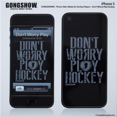 (Gongshow Play Hockey iPhone 5 Skin)