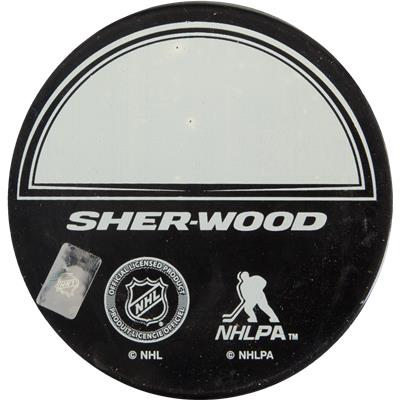 Back View (Sher-Wood NHLPA Star Puck)