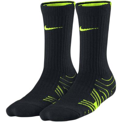 Black/Volt (Nike Performance Football Socks)
