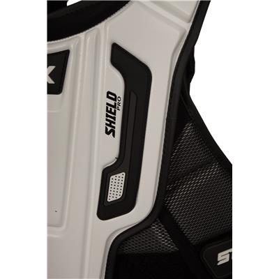 Front Detail (STX Shield Pro Chest Protector)