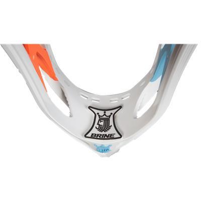 White/Orange/Neon Blue (Brine Clutch III Limited Edition Unstrung Head)