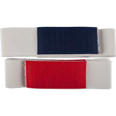 White (A&R Shin Guard Straps - Junior)