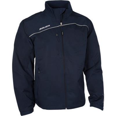 Navy (Bauer Lightweight Warm-Up Jacket)