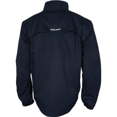 Back (Bauer Lightweight Warm-Up Jacket - Mens)