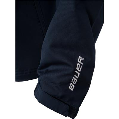 Sleeve Logo Detail (Bauer Lightweight Warm-Up Jacket)